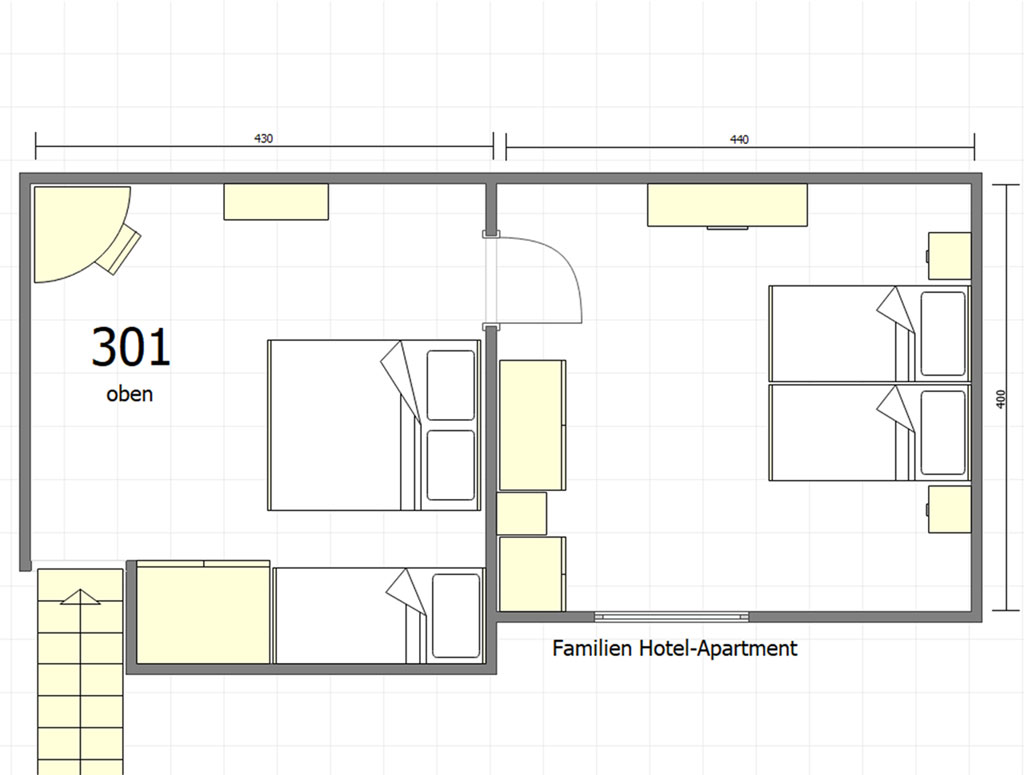 Family Apartment 301 7
