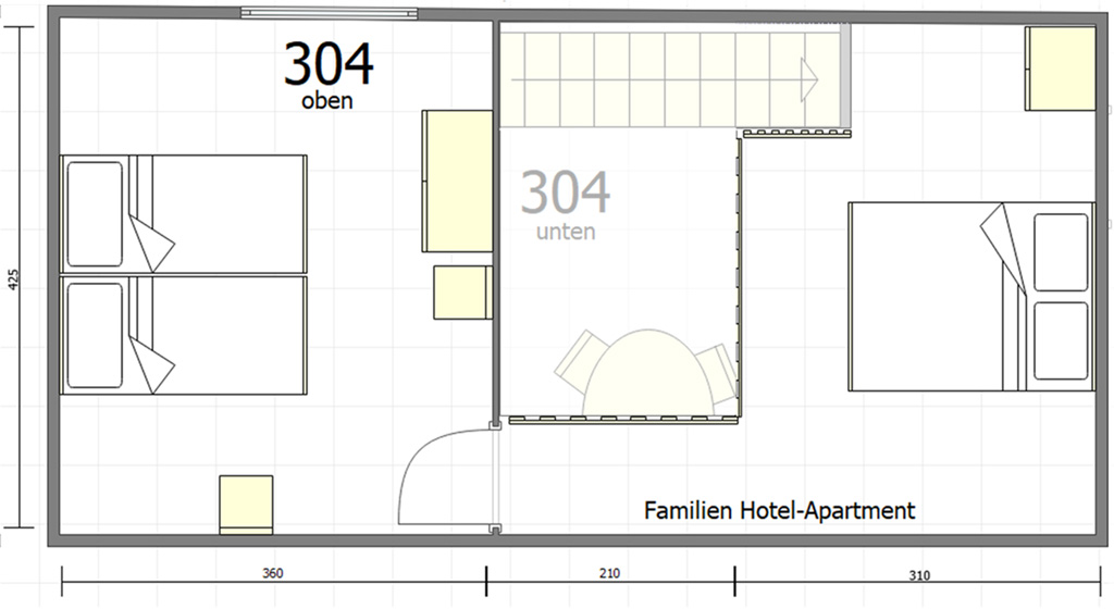 Familienapartment 304 6