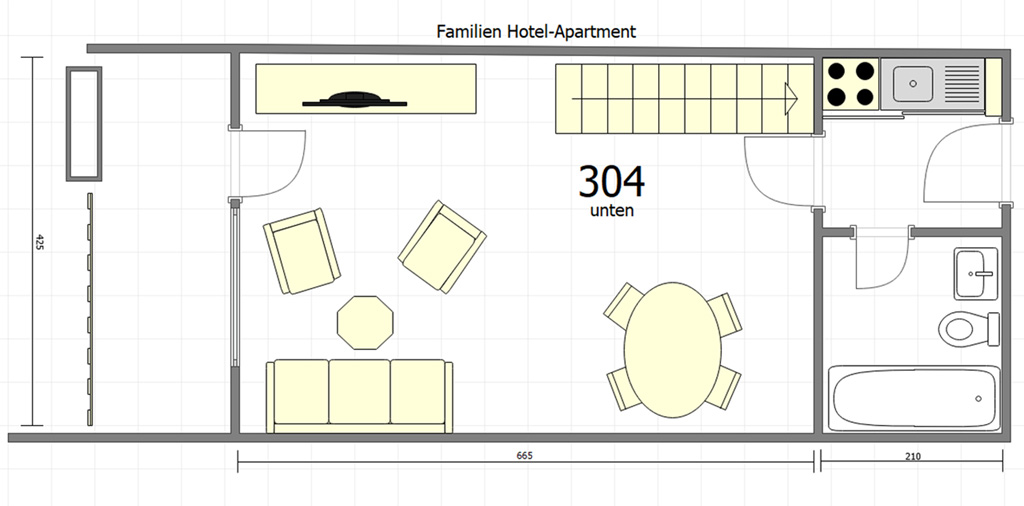 Familienapartment 304 7